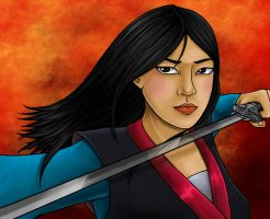 Disney Princess: Mulan by Flamestaff