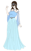 Amalis the queen of Alanes by kittenAX