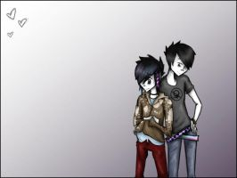 Ritsuka x Andy - Commish. by Echidna-kid