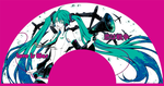::Vocaloid miku-Eventail:: by rann-poisoncage
