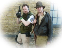 Chris and Indy by paulelder