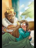 WAKE UP WITH THE KING by mastafuu