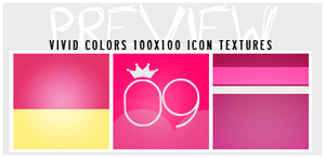 #3 Vivid Colors {icon textures} by iheart-sj