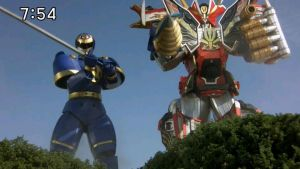 Pirate Master SuperMegazord w/ Ninjor by AirSharkSquad