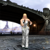 Tekken Emilie de Rochefort Casual Attire headswap by Sticklove
