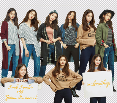 #65 : Pack Render Yoona -H:Connect by snsdexotfboys