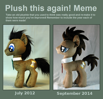 Plush This Again Doctor Whooves by WhiteHeather