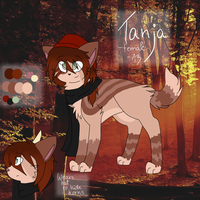 Tanja REF Sheet by iJakeii