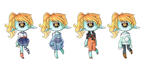 Outfits for cthonicsquid by M1ssNautilus