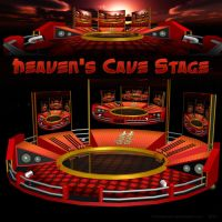 MMD Heaven's Cave Stage by Trackdancer