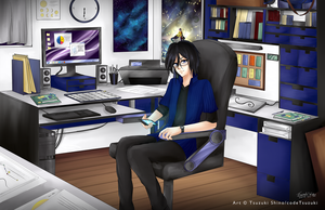 CC Vinn's Office by codeTsuzuki
