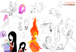 Adventure time drawings by MammuthusBC