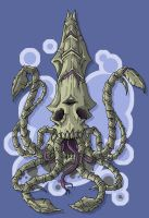 Death Squid by Cannibal-Cartoonist