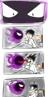 A Gastly Wakeup Call by Mechanical-Dragon
