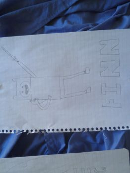 Attempt at Finn the Human by Damonater1234