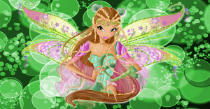 Flora Bloomix Couture Wallpaper by Wizplace