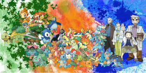 all the starter pokemon by XxSlyCatxX