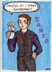 Jones, Ianto Jones by paper-stars