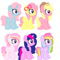 Shipped Foal Adopts by Vamp-y