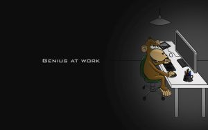 Genius at Work by JuanMonge