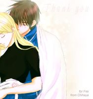 RoyAi - thank you frei-chan by chihaya