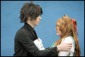 Takashi and Rei - Stay with me by Thara-Wood