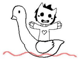Zacharie's Pedalo Ride - Animation by Carnival-Elsen