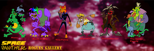 SPACE PANTHER Rogues Gallery by Chopfe