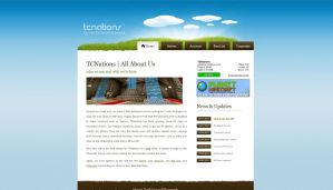 TCNations Website by darrenbarlow