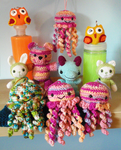 Amigurumi pile-up 2 by Revenia