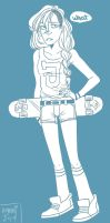 sk8ter gurl by Aymeysa