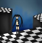 ..::Black Rock Shooter::.. by Shadowlover4444