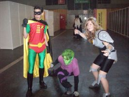 Titans go ! Japan Expo [2010] by moulinneufbeast