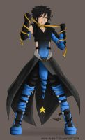Luxray -Gijinka- by Shes-t