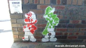 Super Street Art Brothers by tessary