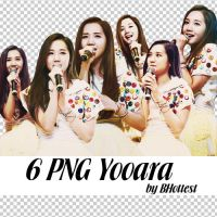 6 PNG Yooara by BHottest