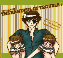 Kiriban Prize: The Handful of Trouble! by BlueStorm-Studio