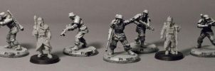 Axis and Death Korps WIP by HobbyV