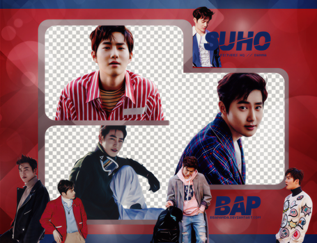 Pack Png #637 // Suho (EXO) by BEAPANDA