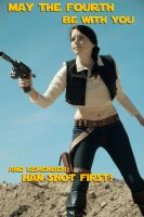 May the Fourth : Hana Solo by Lossien