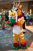 Fu Manchu at Anthrocon 2014 by MrEd301