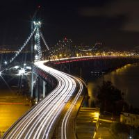 Bay Bridge Under Construction by thevictor2225