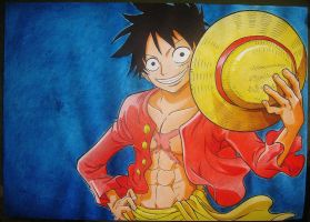 Monkey D. Luffy by AoiSayzuki