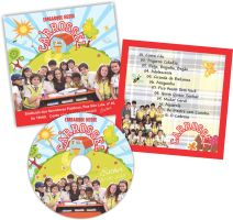 Encarte e Rotulo CD by fullvocal