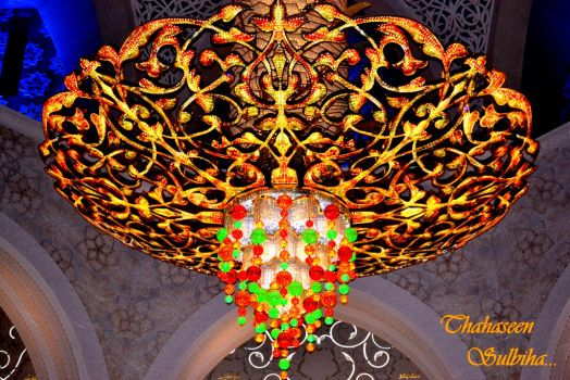 Chandelier by Thahaseen