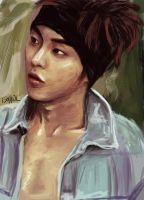 Exo's Xiumin by lastcapricorn