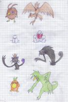 Fakemon Kanto Retype 48-55 by Neomarkan