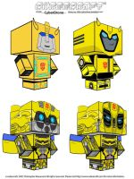 TF Bumblebee Cubeecrafts by CyberDrone