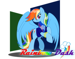 Rainbow Dash by BluDraconoid