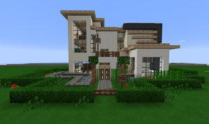 another minecraft house by RavenFeather207